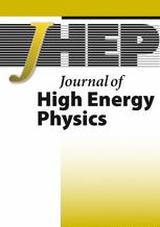 Picture of JHEP journal cover